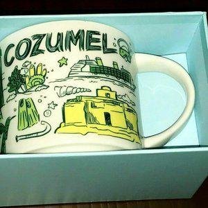 Starbucks Mug Cozumel Been There Series Coffee Cup